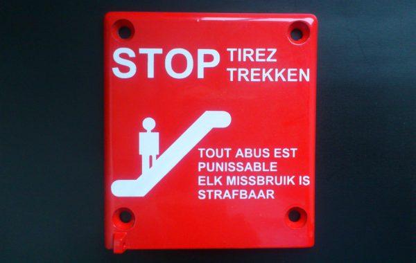 Belgischer Aufdruck