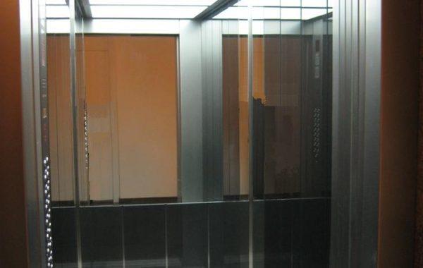 Leuchtdecke mit zwei Leuchtfeldern - München