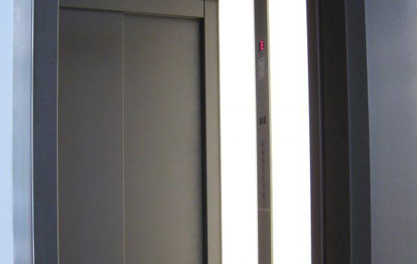 LED-Beleuchtung in Aufzugskabinen