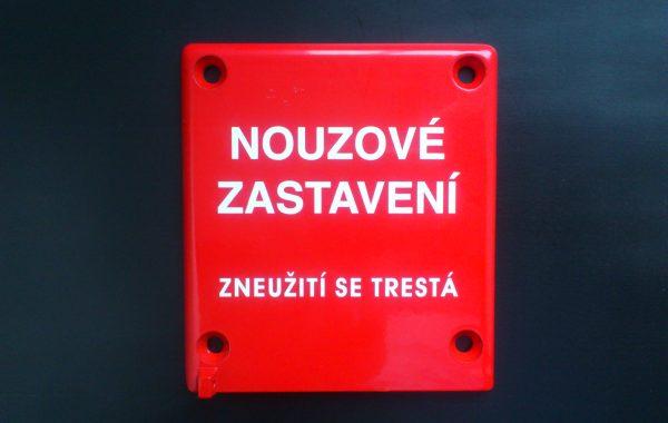 Tschechischer Aufdruck
